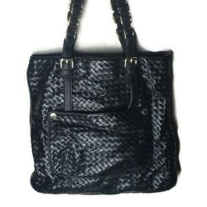 Olivia + Joy, New York, black weave purse